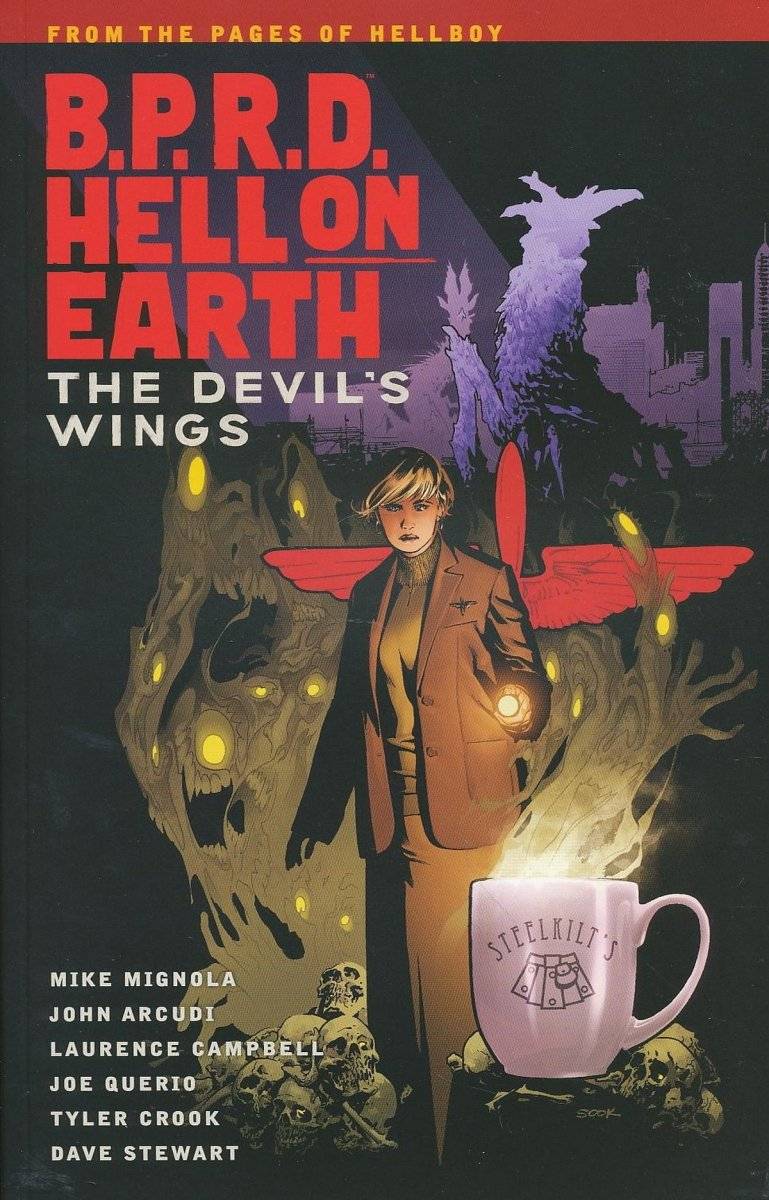 BPRD HELL ON EARTH TP VOL 10 DEVILS WINGS