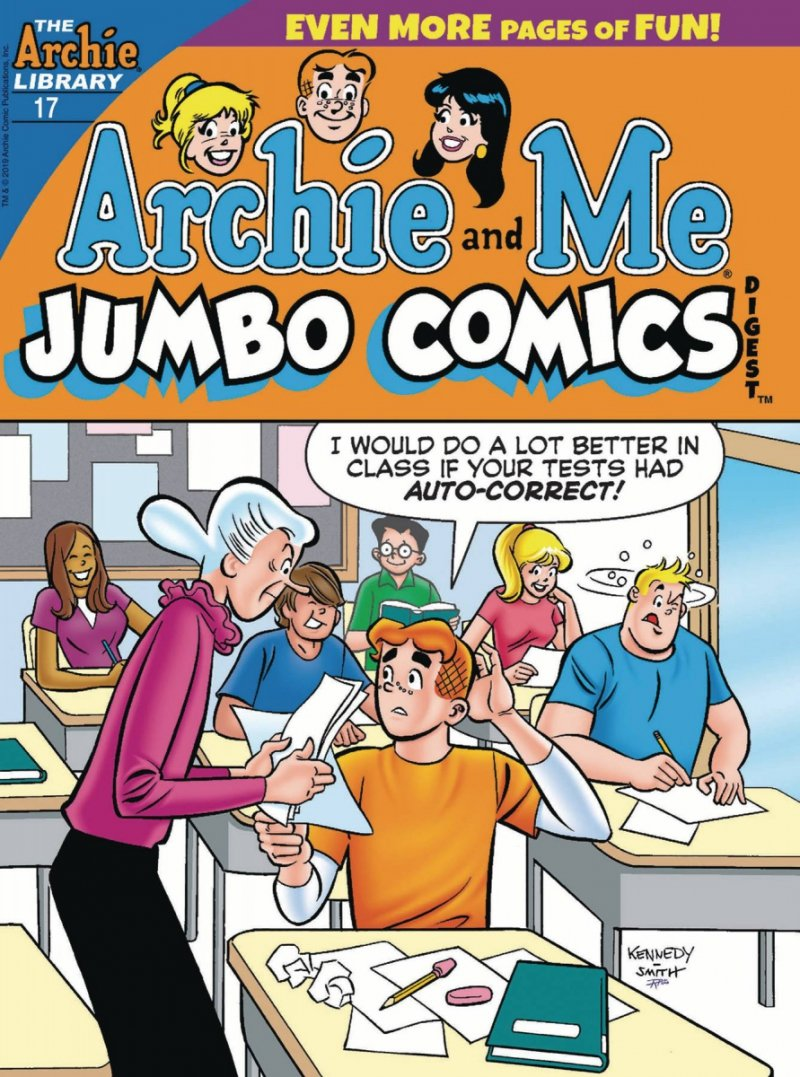 ARCHIE AND ME JUMBO COMICS DIGEST #17