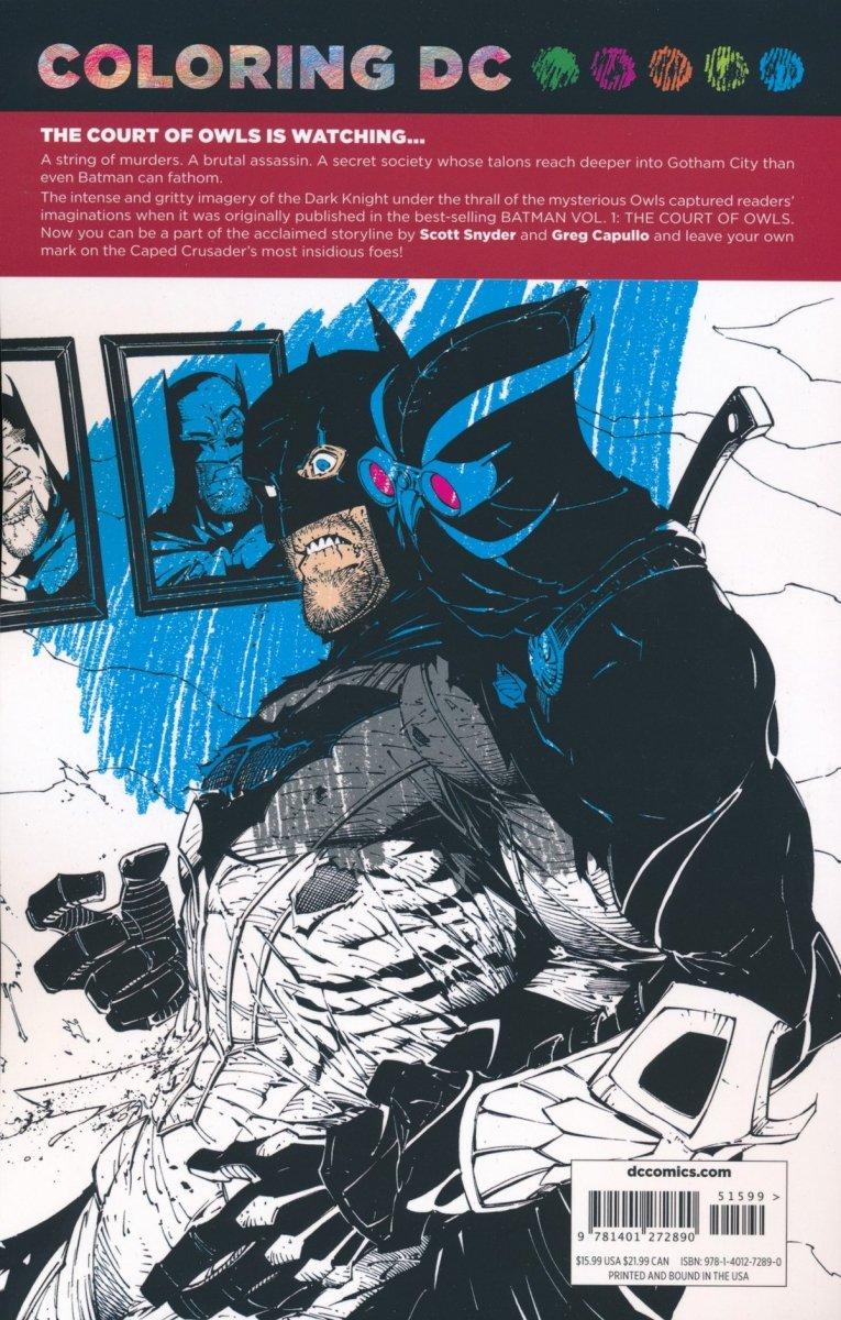 COLORING DC BATMAN IN COURT OF OWLS SC (Oferta ekspozycyjna)