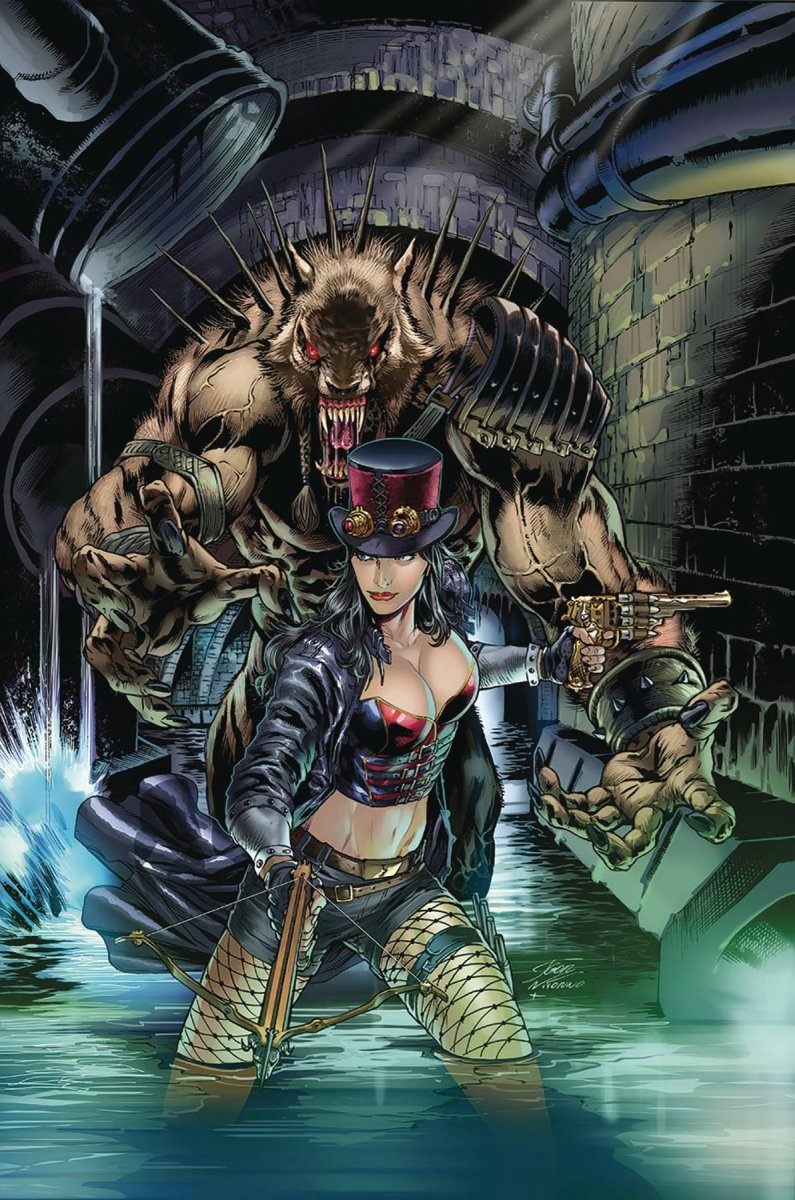 VAN HELSING VS LEAGUE MONSTERS #4 CVR B VITORINO