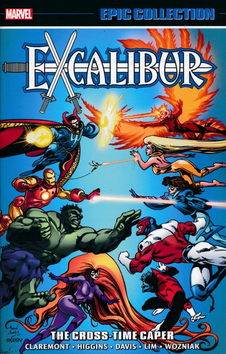 EXCALIBUR EPIC COLLECTION TP CROSS-TIME CAPER