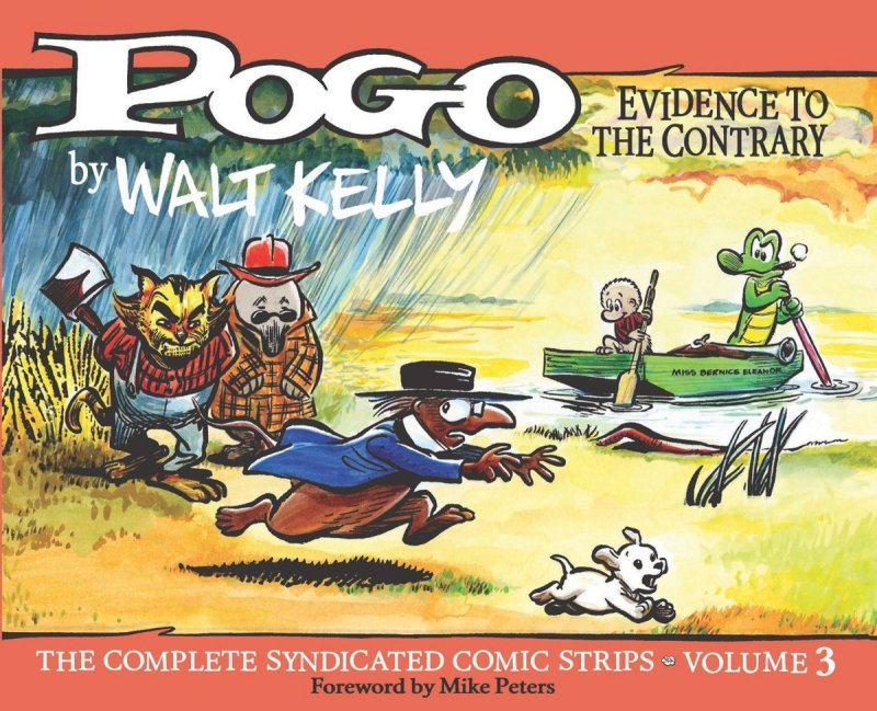 POGO COMP SYNDICATED STRIPS HC VOL 03 EVIDENCE CONTRARY