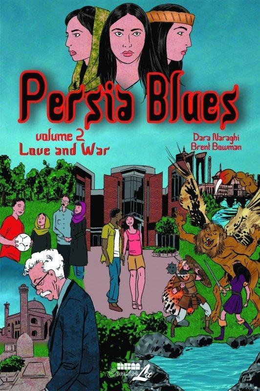 PERSIA BLUES SC VOL 02 LOVE AND WAR