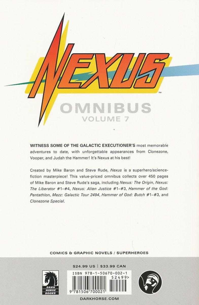 NEXUS OMNIBUS TP VOL 07 (Oferta ekspozycyjna)