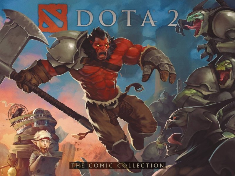 DOTA 2 COMIC COLLECTION HC