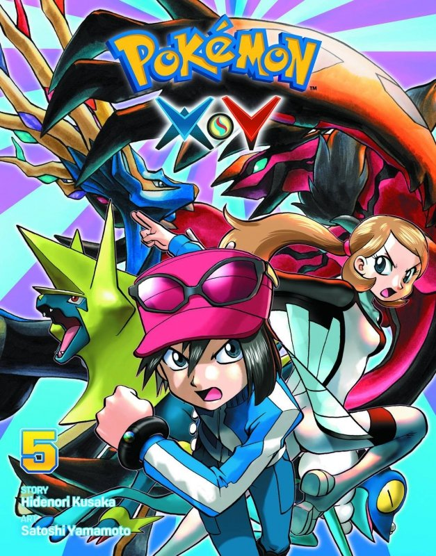 POKEMON XY GN VOL 05