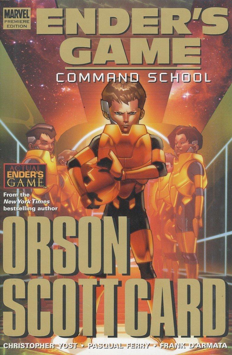 ENDERS GAME COMMAND SCHOOL PREM HC (Oferta ekspozycyjna)