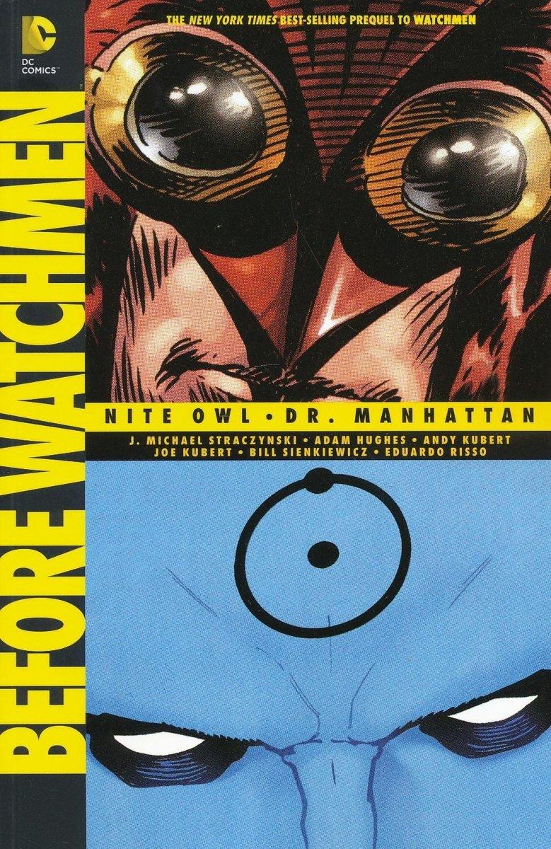 BEFORE WATCHMEN NITE OWL DR MANHATTAN SC (2014 EDITION) (Oferta ekspozycyjna)