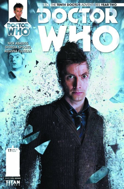 DOCTOR WHO 10TH YEAR TWO #17 CVR B PHOTO