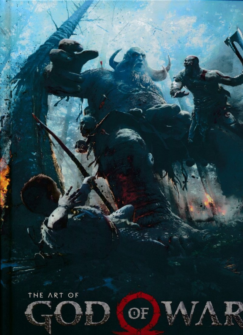 ART OF GOD OF WAR HC