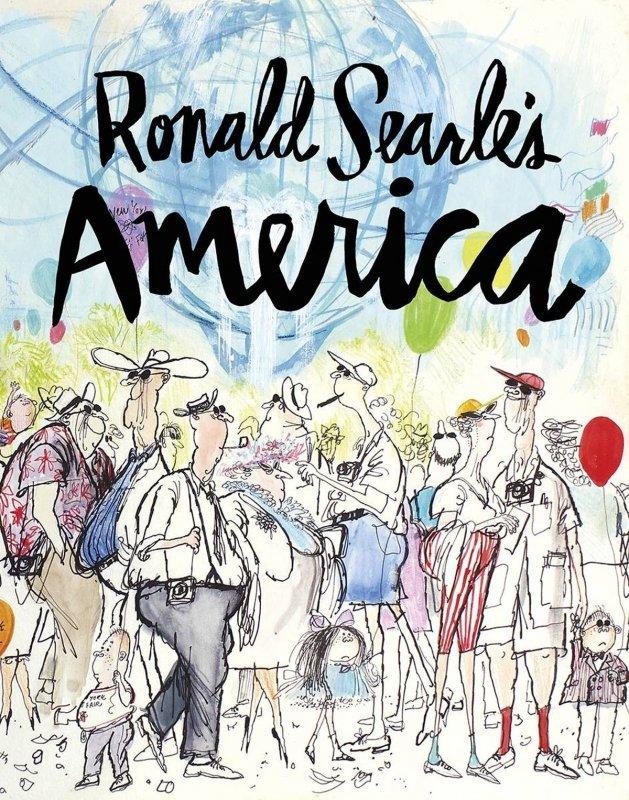 RONALD SEARLE AMERICA HC