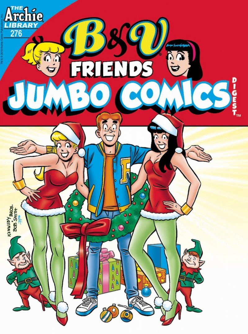 B & V FRIENDS JUMBO COMICS DIGEST #276