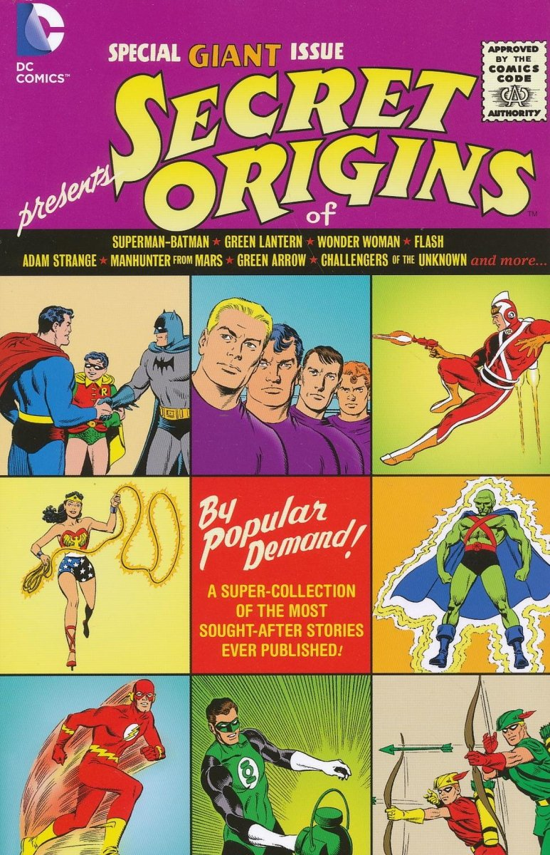 DC UNIVERSE SECRET ORIGINS SC (Oferta ekspozycyjna)