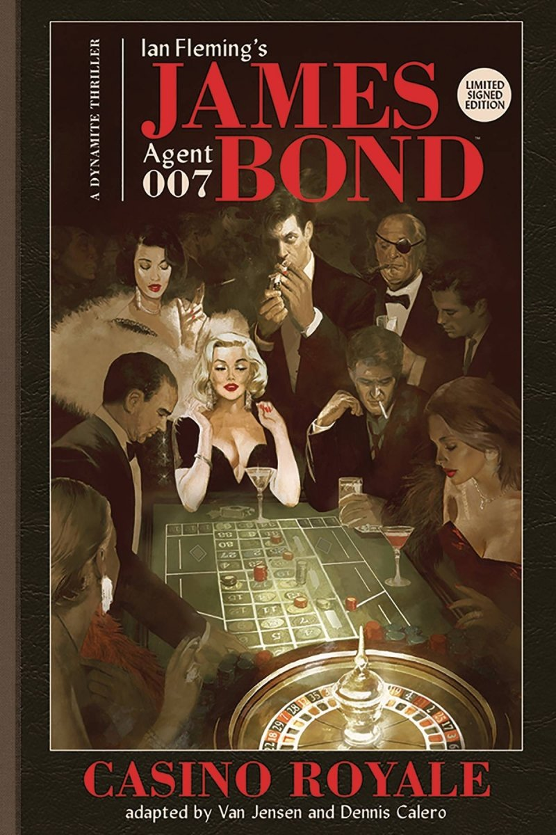 JAMES BOND CASINO ROYALE HC SIGNED ED