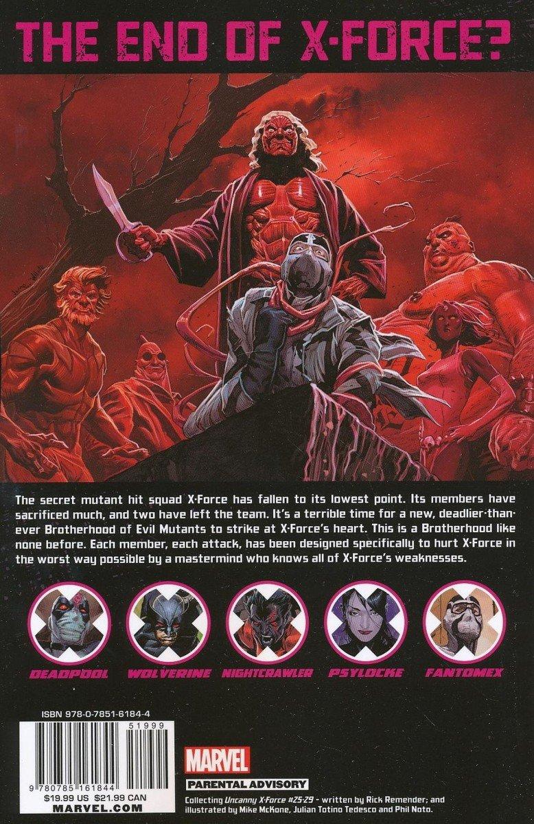 UNCANNY X-FORCE TP VOL 06 FINAL EXECUTION BOOK 1 (Oferta ekspozycyjna)