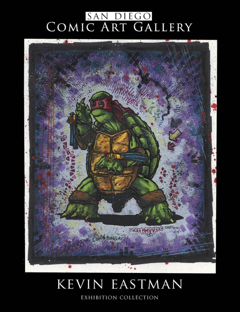 SDCC ART GALLERY KEVIN EASTMAN COLL TP
