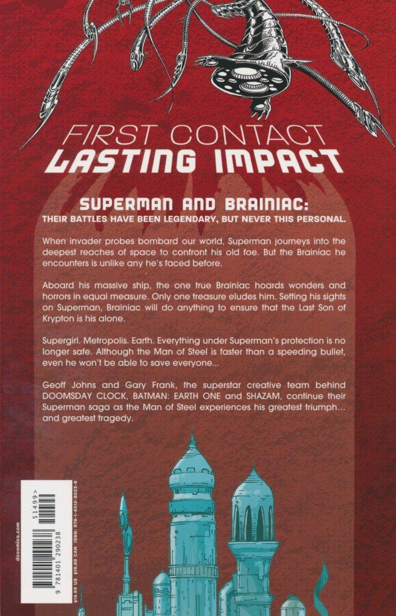 SUPERMAN BRAINIAC SC (NEW EDITION) (Oferta ekspozycyjna)