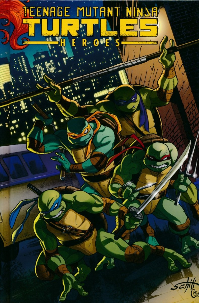 TMNT HEROES COLLECTION HC (Oferta ekspozycyjna)