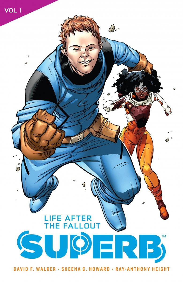SUPERB TP VOL 01 LIFE AFTER THE FALLOUT