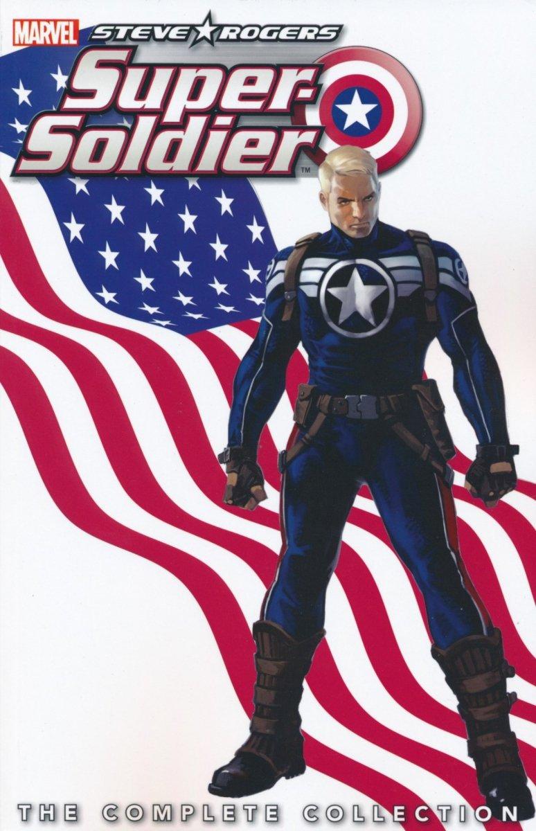 STEVE ROGERS SUPER SOLDIER COMP COLL TP (Oferta ekspozycyjna)