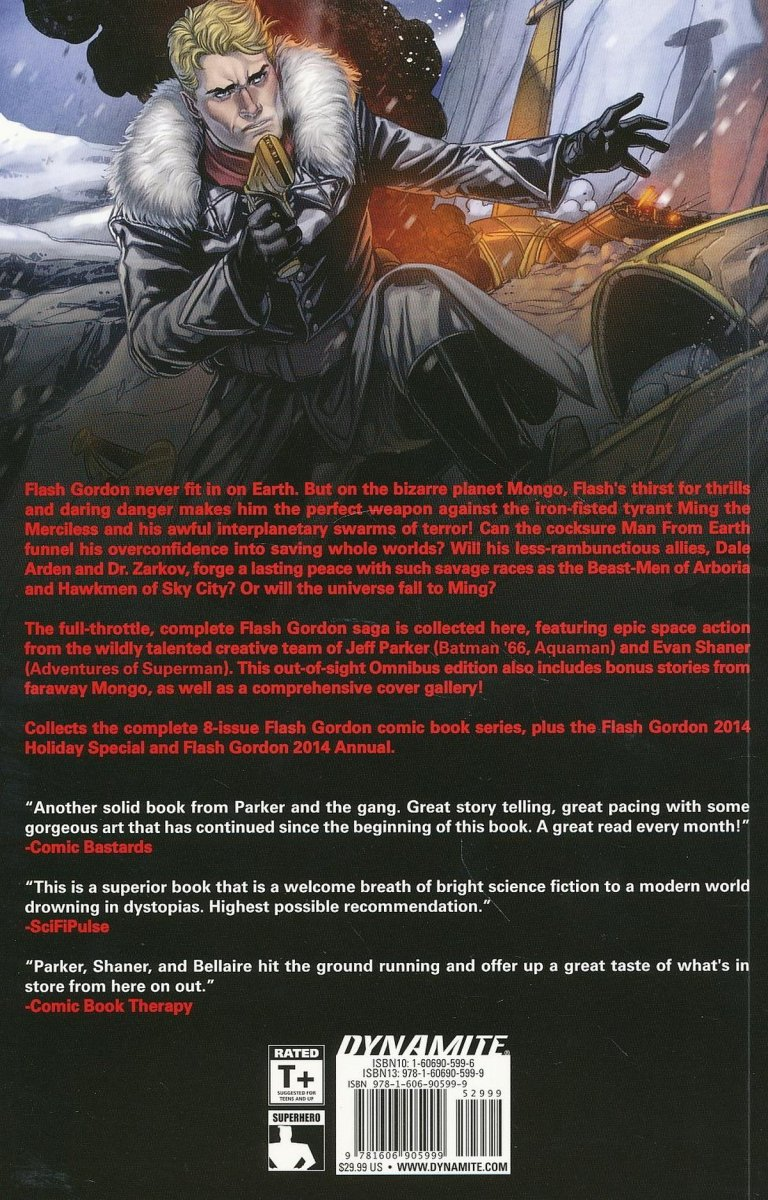 FLASH GORDON OMNIBUS TP VOL 01 MAN FROM EARTH (Oferta ekspozycyjna)