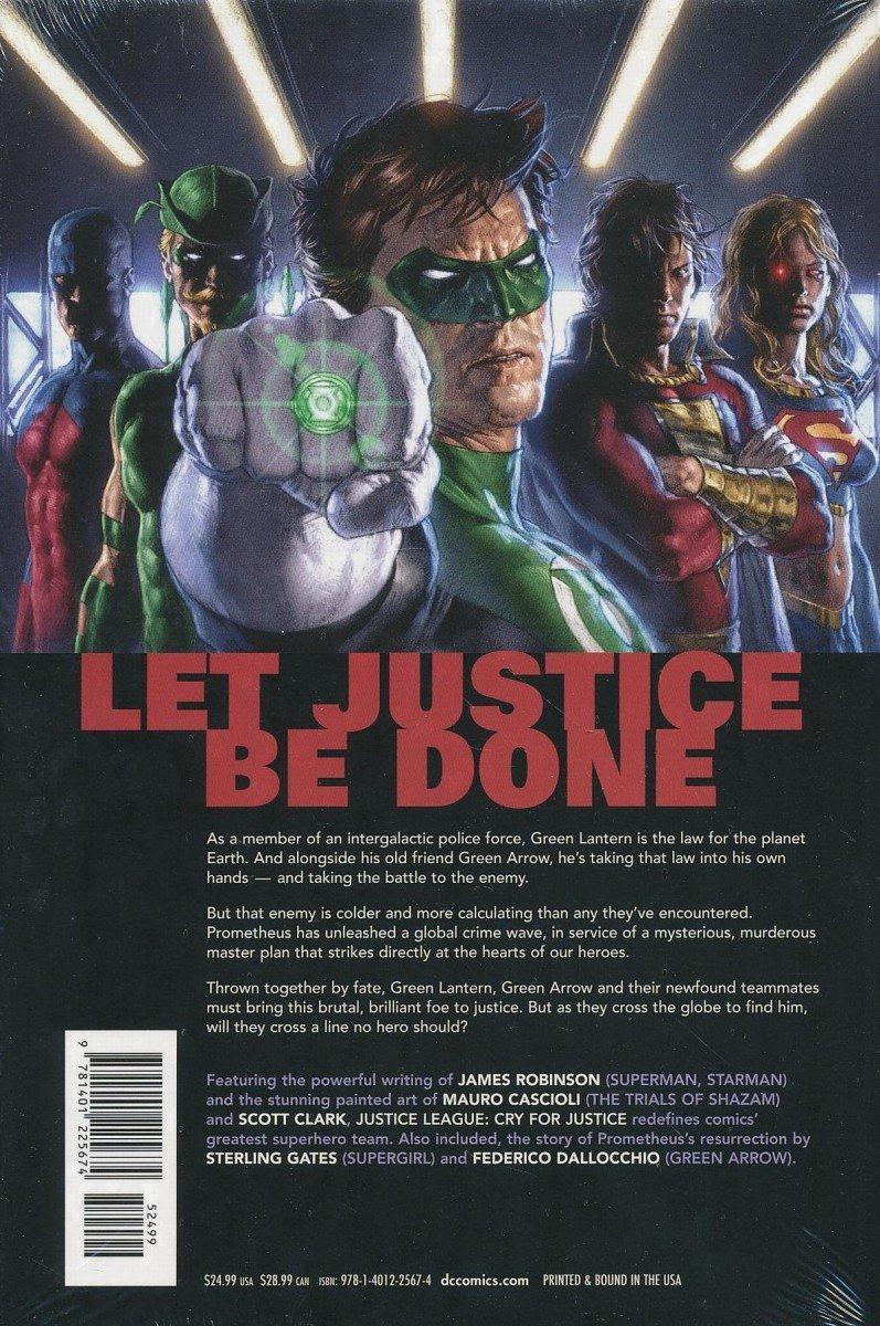 JUSTICE LEAGUE CRY FOR JUSTICE HC (Oferta ekspozycyjna)