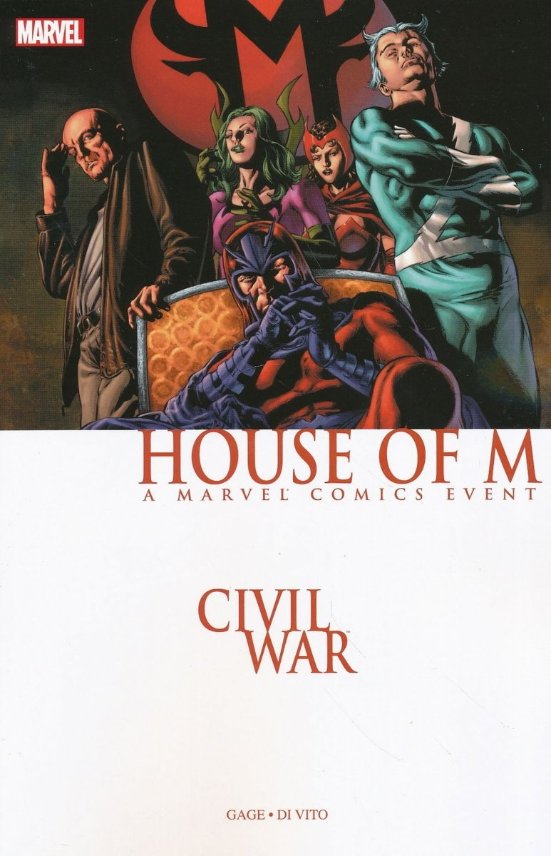 CIVIL WAR HOUSE OF M TP (Oferta ekspozycyjna)