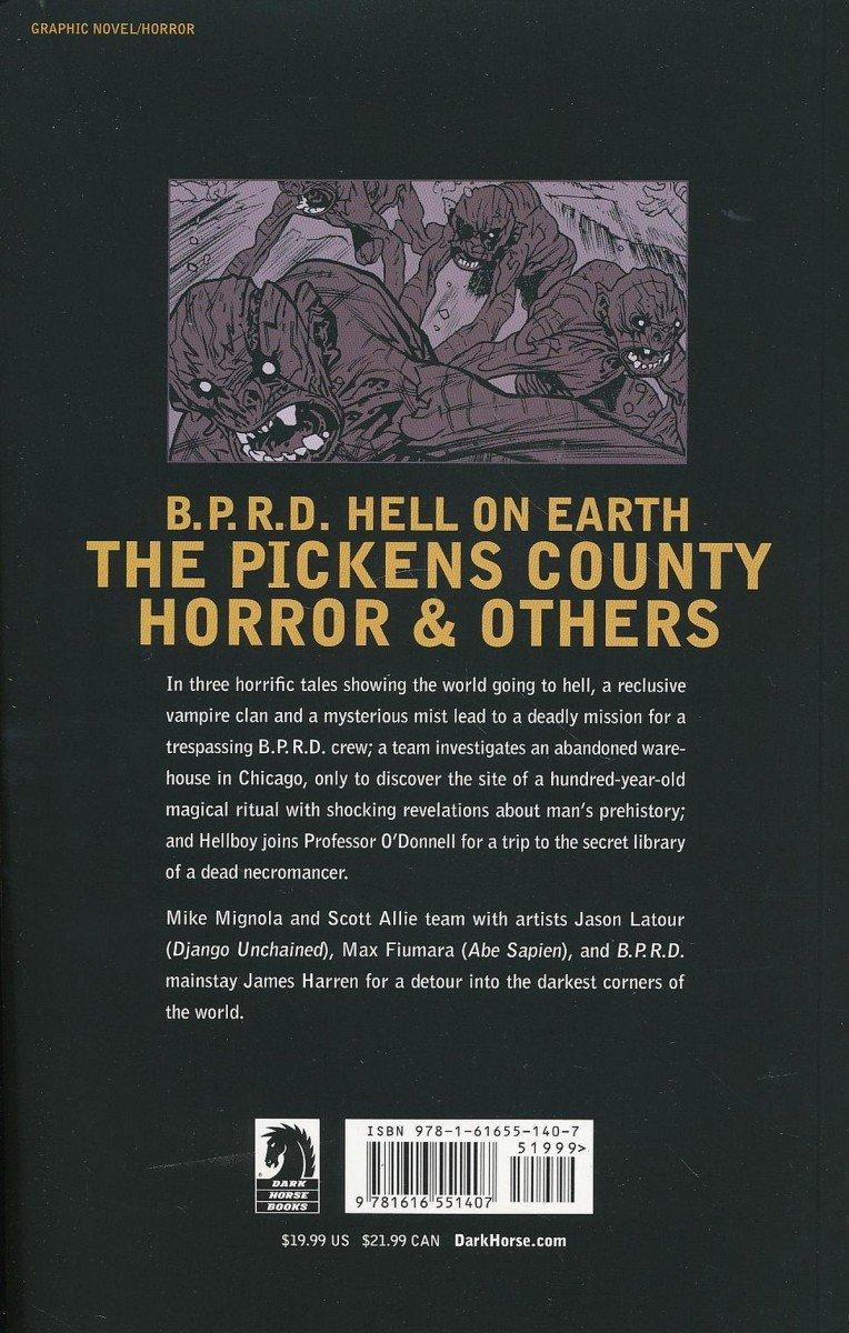 BPRD HELL ON EARTH TP VOL 05 PICKENS COUNTY HORROR (Oferta ekspozycyjna)