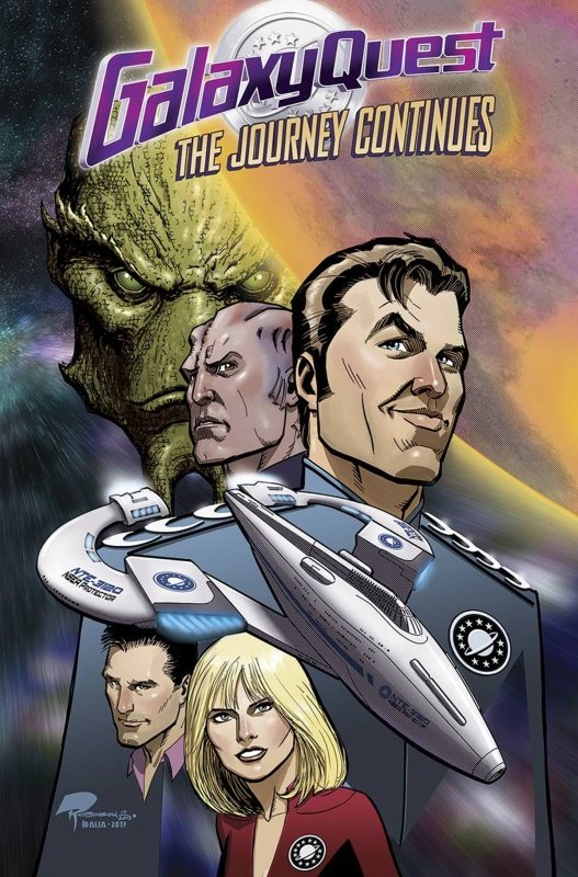 GALAXY QUEST JOURNEY CONTINUES TP
