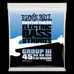 Struny ERNIE BALL 2806 Flatwound (45-100)