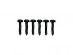 Wkręty mocowania kluczy VPARTS SC-8 (BK)
