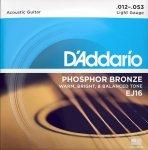 Struny D'ADDARIO Phosphor Bronze EJ16 (12-53)