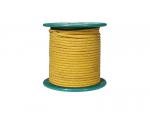Kabel vintage w bawełninaym oplocie (YE)