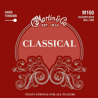 Struny do klasyka MARTIN Classical M160 Ball End