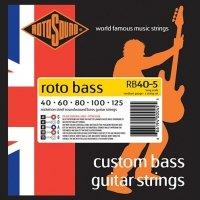 Struny ROTOSOUND Roto Bass RB40-5 (40-125)