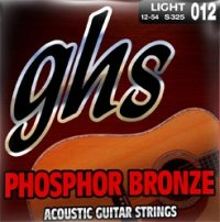 Struny 12ki GHS Phosphor Bronze (11-48) Light