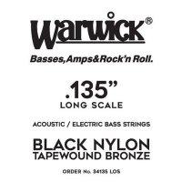 Struna WARWICK Black Nylon Tapewound LOS .135w