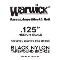 Struna WARWICK Black Nylon Tapewound MS .0125w