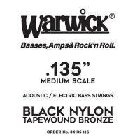 Struna WARWICK Black Nylon Tapewound MS .0135w