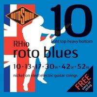 Struny ROTOSOUND Roto Blues RH10 (10-52)