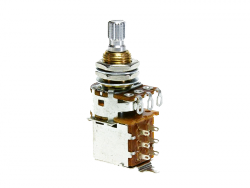 Potencjometr push-push BOURNS 250K audio (std)