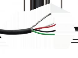 4-żyłowy ekranowany kabel HOSCO CBL-4CW