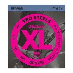 Struny D'ADDARIO ProSteels EPS170 (45-100)