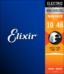Struny ELIXIR NanoWeb Nickel Plated (10-46)