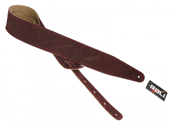 Pasek skórzany RALI Classic Velour Leaf 02