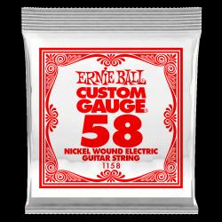 Pojedyncza struna ERNIE BALL Nickel Slinky 058w