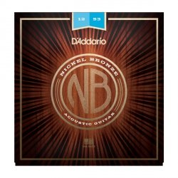Struny D'ADDARIO Nickel Bronze NB1253 (12-53)