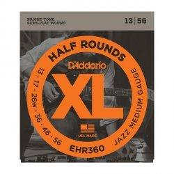 Struny D'ADDARIO Half Rounds EHR360 (13-56)