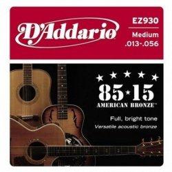 Struny D'ADDARIO 85/15 Bronze Wound EZ930 (13-56)