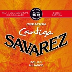 Struny do klasyka SAVAREZ Creation Cantiga 510 MR